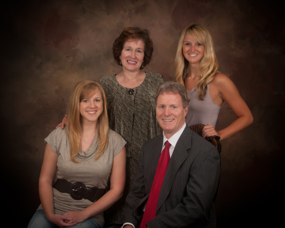 Meet Our Dentist - Dr. Randy Daniel with family